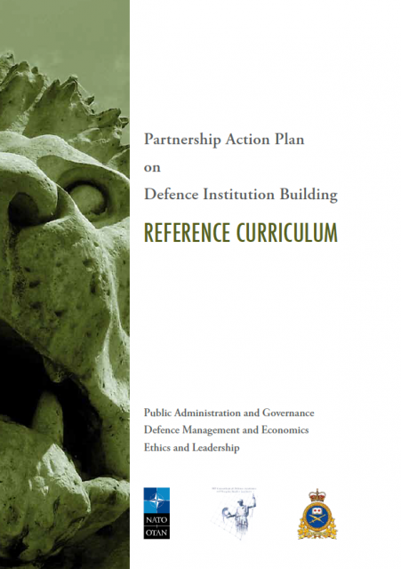 Partnership Action Plan on Defence Institution Building REFERENCE CURRICULUM