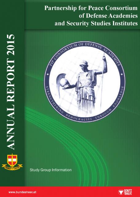 PfP Consortium Annual Report 2015