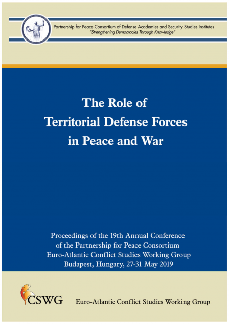 CSWG 2019 May 27-31 2019 Budapest conference proceedings